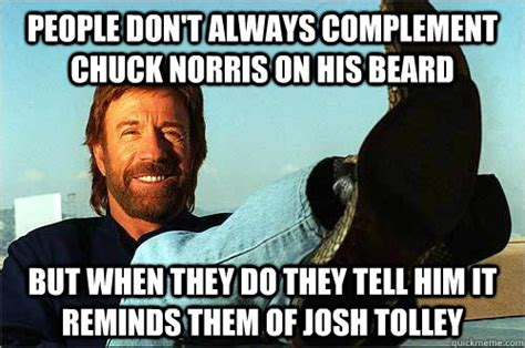 Chuck Norris Beard Meme - chuck norris was in the air force your branch is invalid