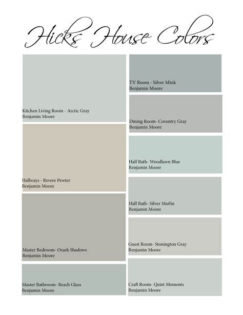 painting color schemes whole house painting hicks house