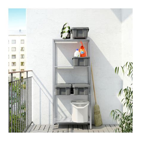Ikea Hyllis hyllis shelving unit in outdoor 60x27x140 cm ikea