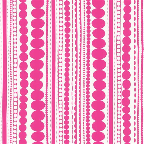 ethno pattern white wallpaper rasch textil girls ethno pattern pink white 138837