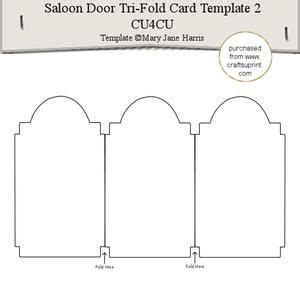 tri fold single card template 17 best images about card templates on