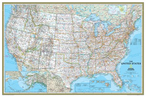 wall maps usa national geographic usa classic wall map maps