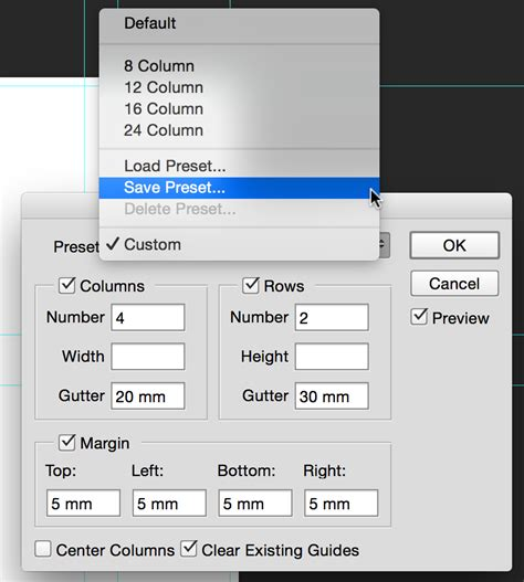guide layout photoshop cc new guide layout in photoshop cc 2014 tipsquirrel