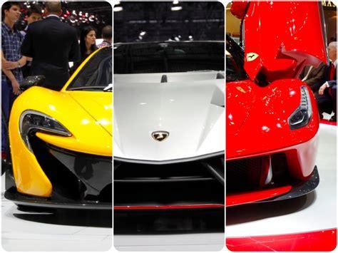Laferrari Vs Lamborghini Veneno Tale Of The Mclaren P1 Vs Lamborghini Veneno Vs