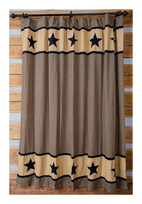 Primitive Country Curtains Bathroom 81 Primitive Country Bathroom Shower Curtain Primitive Country Shower Curtains For The