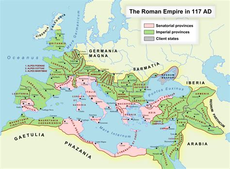 political map of rome reboot christianity the government and the trial of