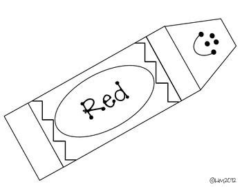 Best Ideas About Preschool Colors Shapes Daycare Colors And Colors Activities On Pinterest Crayon Label Template