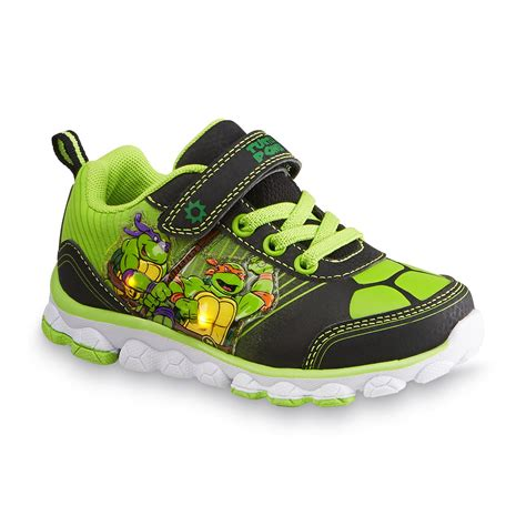 Turtle Light Up Shoes by Mutant Turtles Toddler Youth Boy S Green