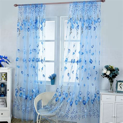 window net curtains tulip floral window net curtain slot top panel beaded
