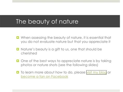 Essays On The Of Nature by Of Nature Test Presentation