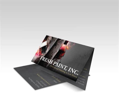 vistaprint folded business card template vistaprint folded business card fire paint check out