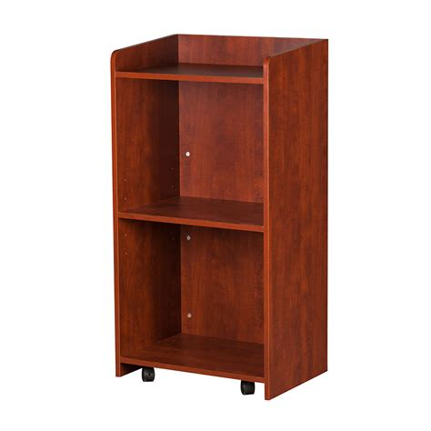Kitchen Cabinets Unassembled by Oak Street M8810 Cherry Hostess Station W 24 5 X 16 75