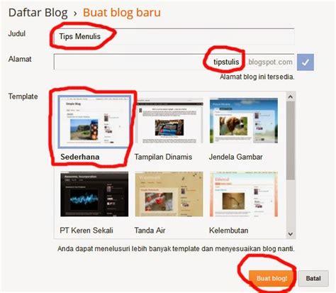 tutorial membuat blogger pdf tutorial cara membuat blog di blogspot