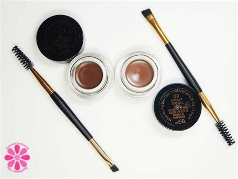 Original 100 Milani Stay Put Brow Color milani stay put brow color in medium brown swatches review cosmetic sanctuary