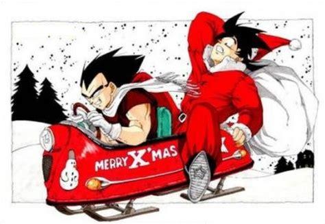 imagenes de navidad dragon ball z goku en navidad para facebook gratis descargar imagenes