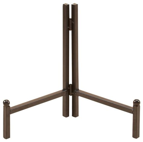 metal plate stand beautifully structured traditional
