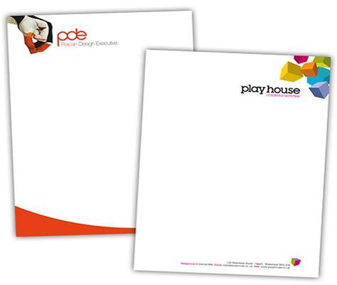 business letterhead requirements printers mail boxes etc
