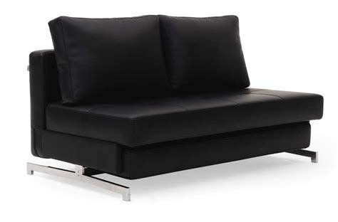 Sofa Bed Contemporary Leather Textile Contemporary Sofa Bed With Steel Frame