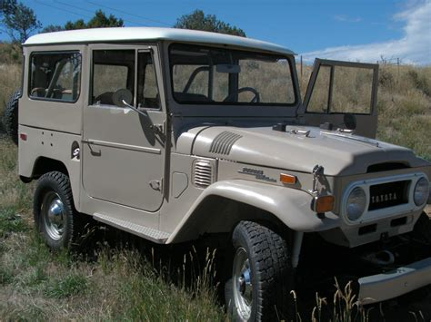 1971 Toyota Land Cruiser 1971 Toyota Land Cruiser Clean Restored Fj40 C Land