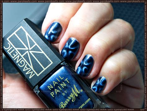 barry m magnetil nail paints swatches review