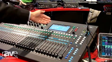 Mixer Digital Allen Heath Qu 32 infocomm 2014 allen heath announces new qu 32 digital