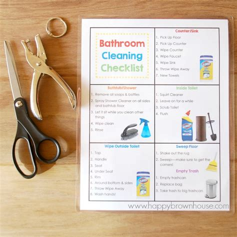 kids can clean the bathrooms bathroom cleaning kit for kids free printable bathroom