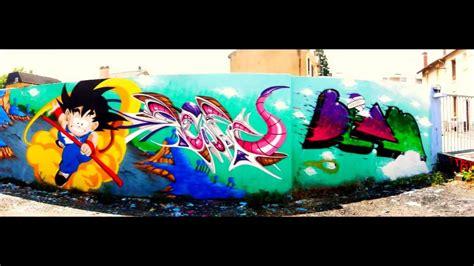 imagenes de goku graffitis endtoend erbra deft maeb dragon ball z graffiti