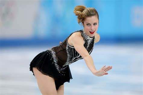 Sexy women figure skaters
