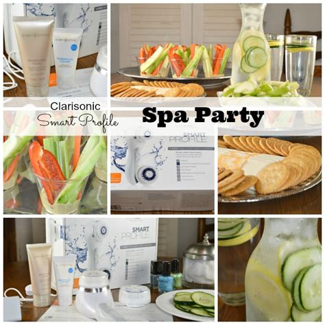 Spa Giveaway Ideas - spa party ideas and the clarisonic smart profile about a mom