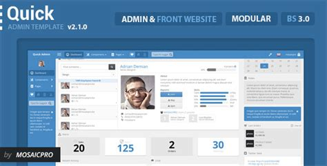 55 responsive website admin templates tutorial zone