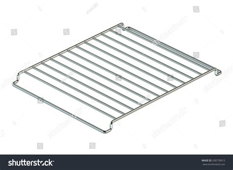 rack of on grill empty grill rack isolated on white background stock photo