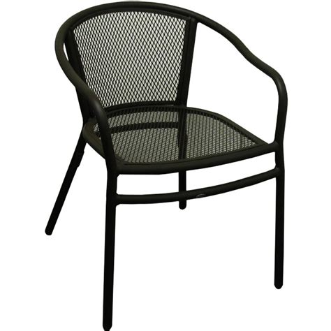 metal patio chair rosa metal patio chair with arms