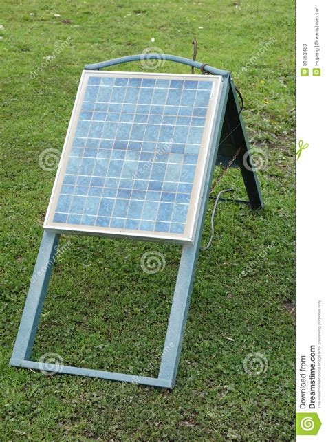 Backyard Solar Panels by Solar Panels Cells Stock Photos Image 31763483