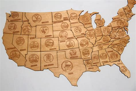 woodworking usa magnetic wood usa puzzle map 187 gadget flow
