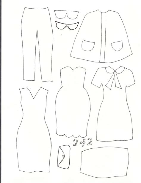 Dress A Doll Template by Smile And Wave Dress Up Felt Board Tutorial And Template