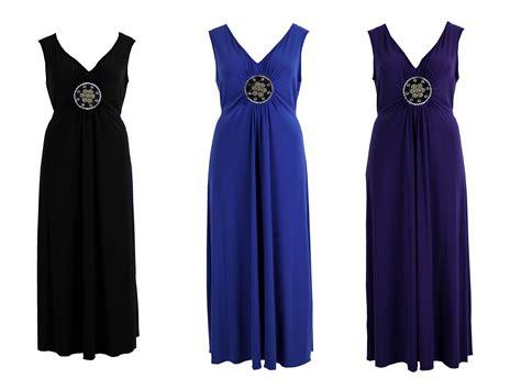 Maxi Dress Dress Motif plus size disc motif sleeveless v neck maxi dress ebay
