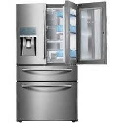 home depot refrigerator samsung 22 4 cu ft food showcase 4 door door
