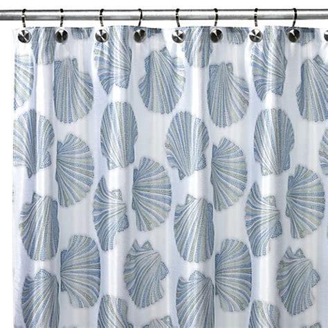 shell curtain croscill 174 mosaic shells shower curtain bed bath beyond