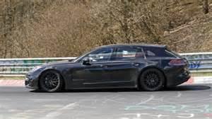 2017 Porsche Panamera Sport Turismo Wagon Spy Shots Photo