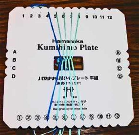 zigzag kumihimo pattern braiding plate kumihimo instructions weir crafts