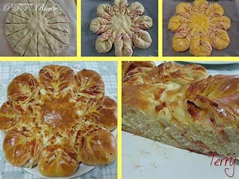 pan brioche a forma di fiore fiore di pan brioche salato farcito ptt ricette