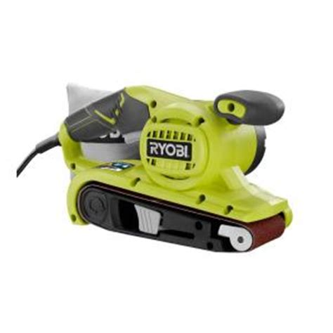 ryobi 3 in x 18 in portable belt sander be319 the home