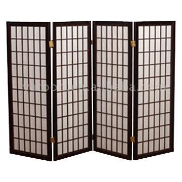 Room partition screen