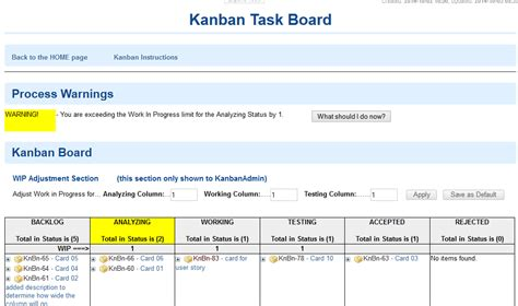 kanban board card template polarion extensions