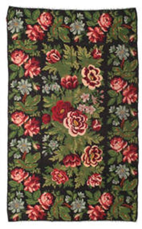 teppich rosenmuster kelim carpetvista