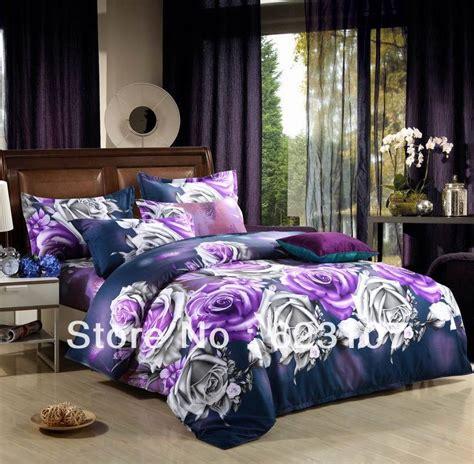 the phantom of the purple 3d reactive printing bedding set