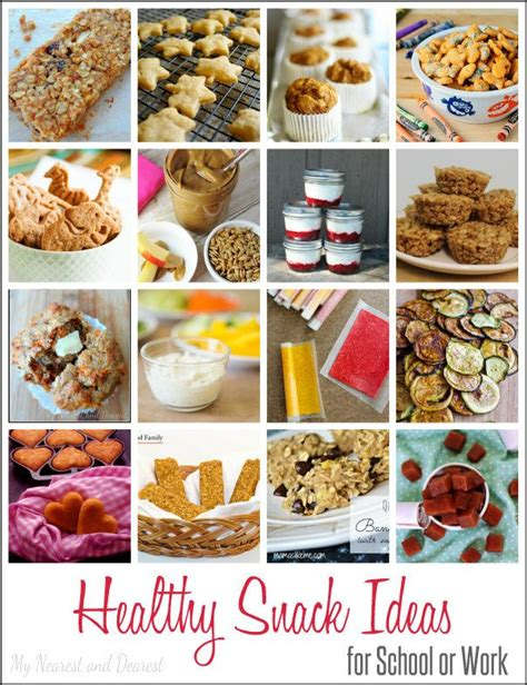 7 Safe Ideas For School Snack Time by 16 Healthy Snack Ideas For School Or Work