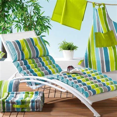cuscini per lettini da giardino cuscino per lettino da spiaggia pacifique verde cuscini