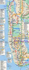 New York City Subway Street Map by Printable Map Of New York Images