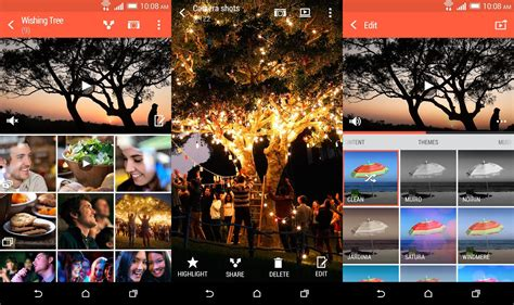 htc gallery apk htc gallery update allows one m8 users to live duo photos